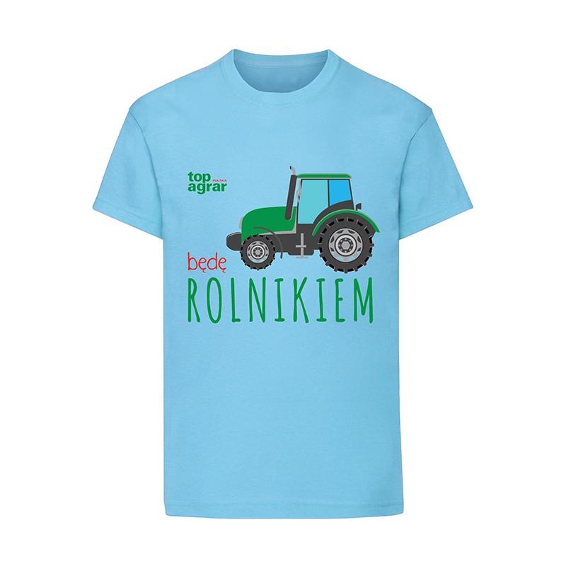 Koszulka dziecięca Będę Rolnikiem  – top agrar Polska