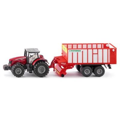 SIKU 1987 - traktor Massey...
