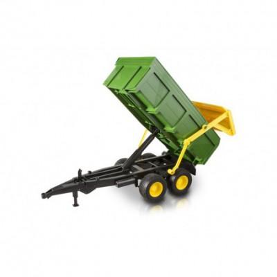 SIKU 1858 Traktor JCB 8250 z wózkiem i wywrotką