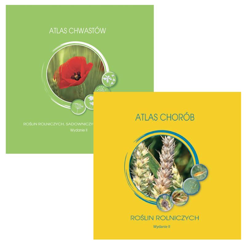 Pakiet: Atlasy chwastów i chorób roślin rolniczych