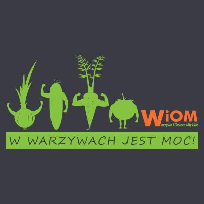 Koszulka WiOM- W warzywach...