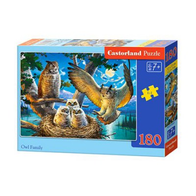 Puzzle 180 elementów Owl...
