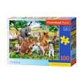 Puzzle 100 elementów - On the Farm