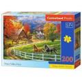 Puzzle 200 elementów - Horse Valley Farm