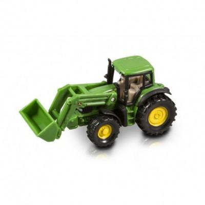BRUDER 2052 - Traktor John Deere 6920 z ładowarką czołową