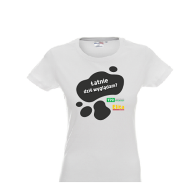 Koszulka damska - łatnie...