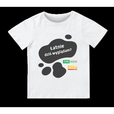 Koszulka dziecięca - łatnie...