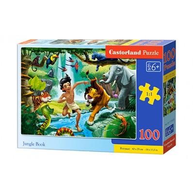 Puzzle 100 elementów - Jungle