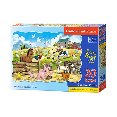 Puzzle - 20 elementów MAXI....