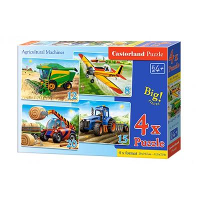 Puzzle 4 w 1 - Agrikultural...