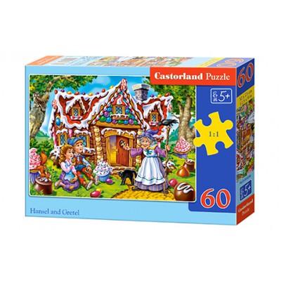 Puzzle 60 elementów - Hansel