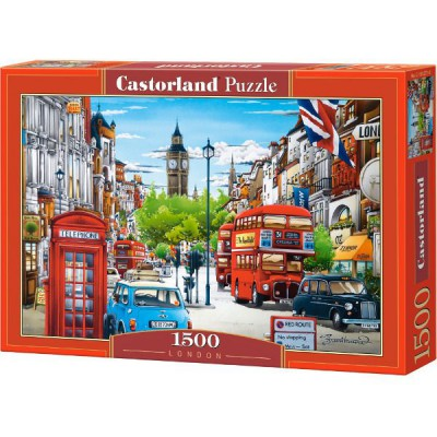 Puzzle 1500 elementów - Londyn