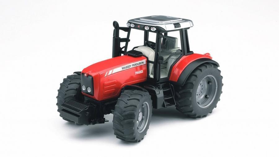 Bruder 03046 - traktor Massey Ferguson 7600