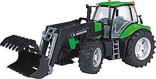 Bruder 3081 - traktor Deutz Agrotron X720 z ładowarką czołową