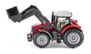 Siku 1484 - traktor Massey Ferguson z przednią ładowarką