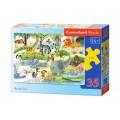 Puzzle Midi Castorland B-035083 (At the Zoo) 35 el.