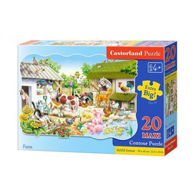 Puzzle 20 elementów - Maxi...