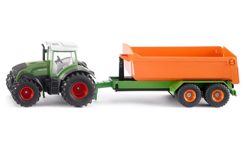 SIKU 1989 Traktor z podnośnikiem