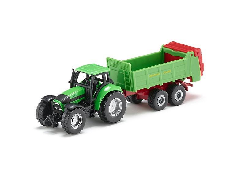Siku 1673 - traktor z przyczepą