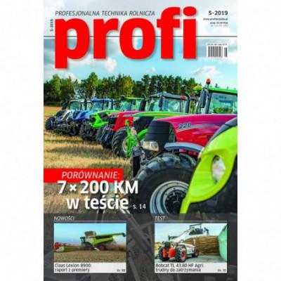 SIKU 1380 -  Traktor ze szczypcami do drewna